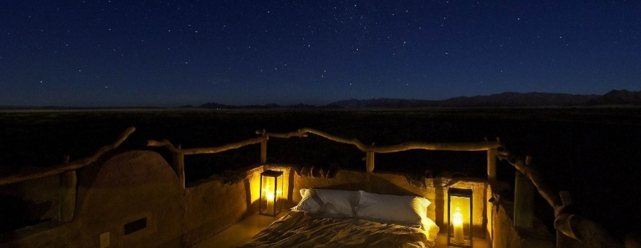 Koija Starbeds at Night